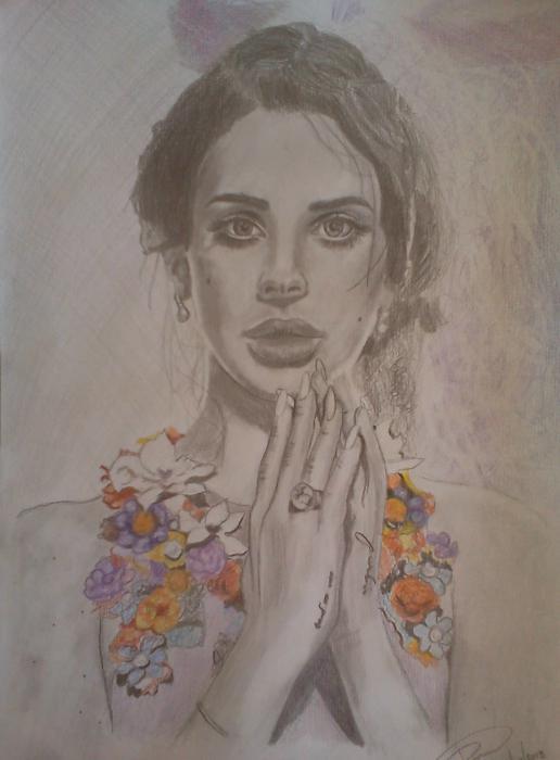 Lana Del Rey by Mitsos